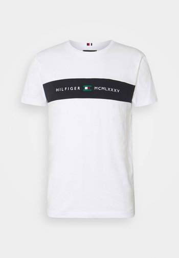 NEW LOGO TEE - T-shirt med print - white