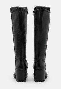 Tamaris - BOOTS - Platåstøvler - black - 3