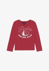 Polo Ralph Lauren - Top sdlouhým rukávem - flame heather - 2