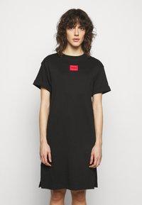HUGO - NEYLETE REDLABEL - Jersey dress - black - 0