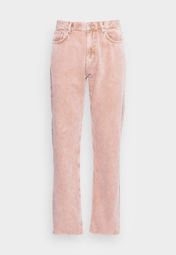 SPACE WASHED TROUSERS - Kalhoty - beige