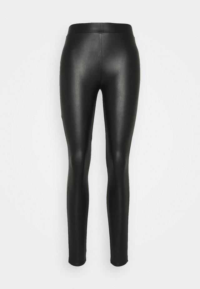Leggings - Trousers - deep black