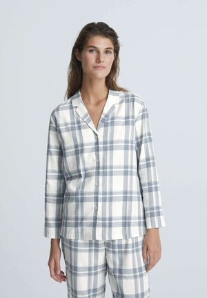Pyjama top - white/blue