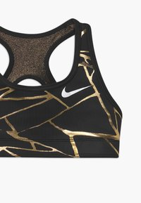 Nike Performance - Sports bra - black/gold - 3