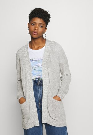 NMARIANNA CARDIGAN - Gilet - light grey melange