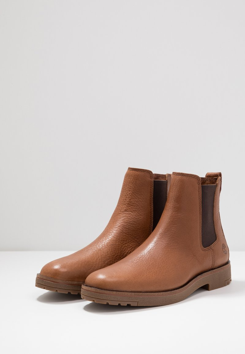 templo capital Disparidad  Timberland FOLK GENTLEMAN CHELSEA - Classic ankle boots - medium  brown/brown - Zalando.ie