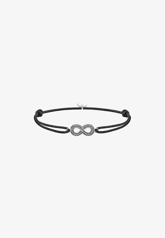 LITTLE SECRET INFINITY - Armband - silberfarben, schwarz