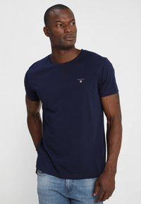 GANT - THE ORIGINAL - T-shirt - bas - evening blue - 0