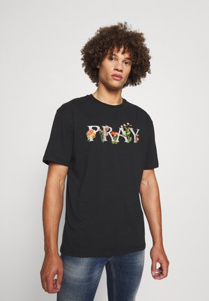 MEADOW UNISEX - T-shirt print - black wash