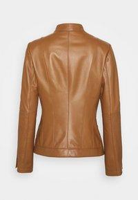 HUGO - LISAKA - Leather jacket - rust/copper - 5