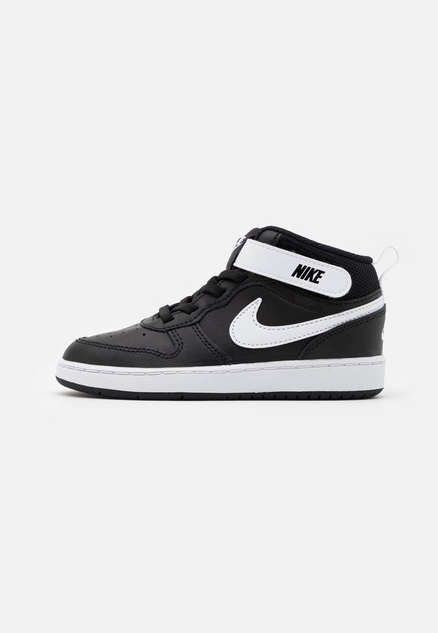 COURT BOROUGH MID UNISEX - High-top trainers - black/white