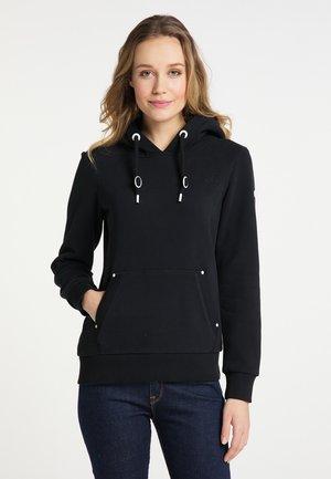 Bluza z kapturem - schwarz