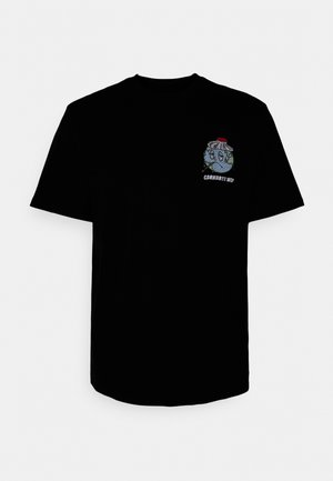 ILL WORLD - T-shirt imprimé - black