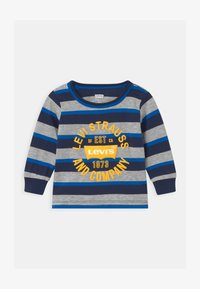 Levi's® - STRIPED - Long sleeved top - dark blue - 0