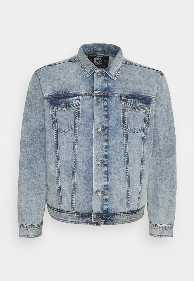 MARLIN JACKET - Spijkerjas - light blue