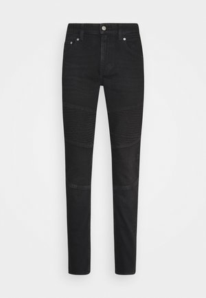 CKJ 058 SLIM TAPER - Jeans Tapered Fit - denim black