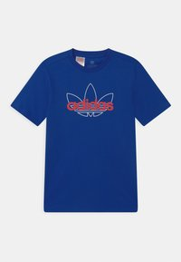 adidas Originals - OUTLINE TREFOIL UNISEX - T-shirt imprimé - team royal blue - 0