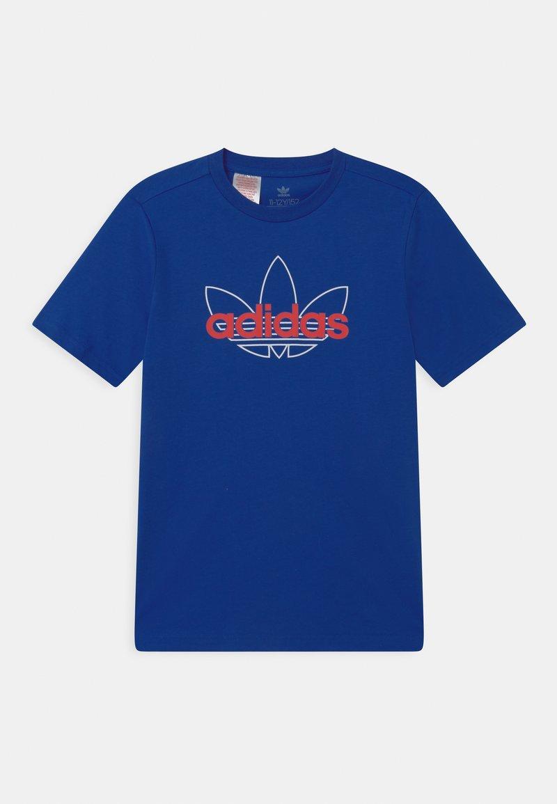 adidas Originals - OUTLINE TREFOIL UNISEX - T-shirt imprimé - team royal blue