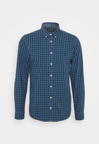 BUTTON DOWN LONG SLEEVE INSERTED - Shirt - multi/kashimir blue
