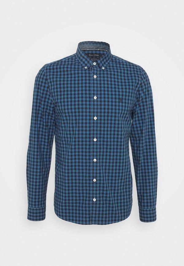 Marc O'Polo BUTTON DOWN LONG SLEEVE INSERTED - Koszula - multi/kashimir blue/niebieski Odzież Męska GJCI