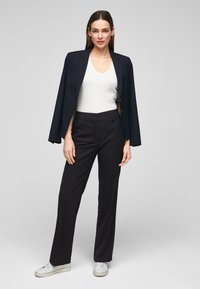 s.Oliver BLACK LABEL - Trousers - navy - 1