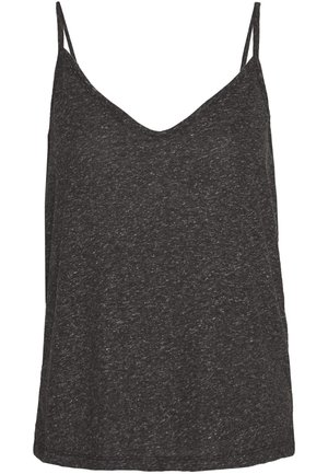 SLFIVY  V NECK STRAP - Top - black