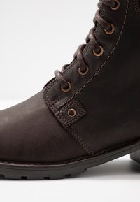 Clarks - ORINOCO SPICE - Lace-up ankle boots - dark brown - 2