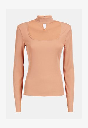 CUT-OUT - Long sleeved top - rose