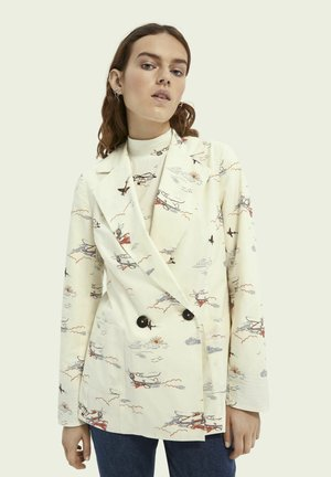 PRINTED DOUBLEBREASTED  - Short coat - combo a