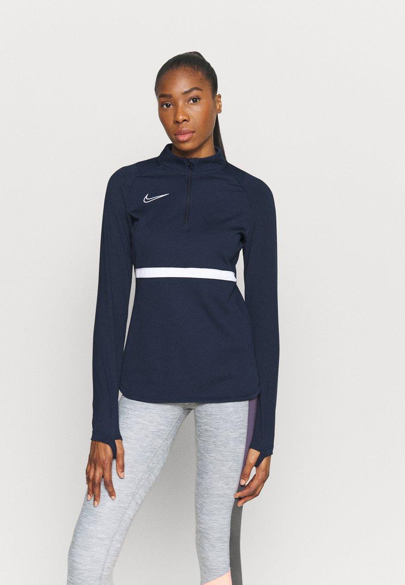 Nike Performance - DRY ACADEMY  - Sweatshirt - obsidian/white
