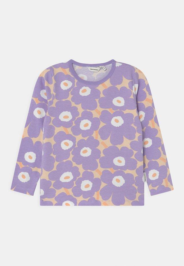 OULI MINI UNIKOT - Longsleeve - light yellowish/lavender