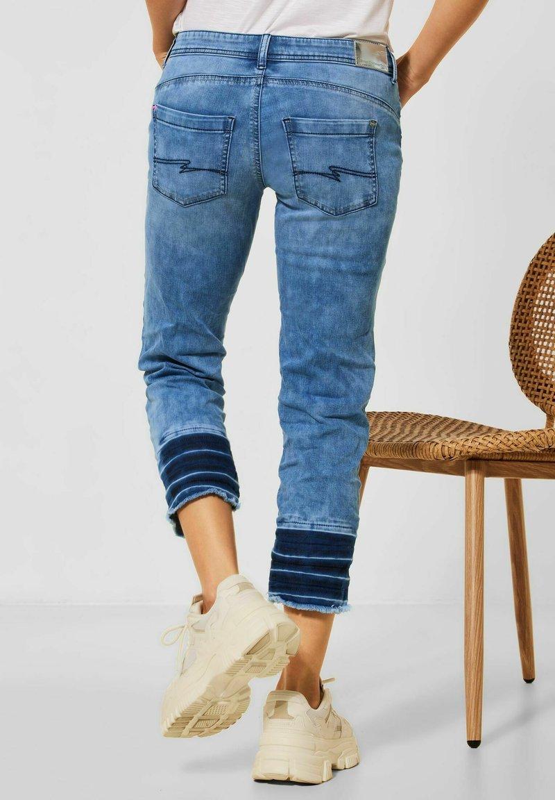 Street One - Straight leg jeans - blau