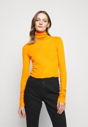WOMEN - Long sleeved top - pumpkin