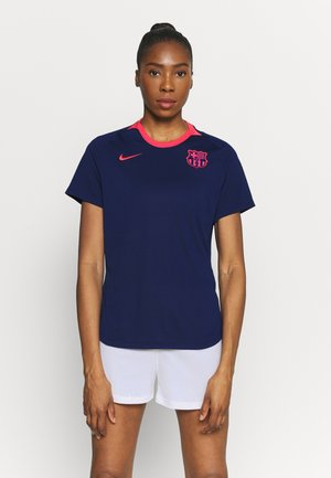 FC BARCELONA DRY LIFESTYLE  - Club wear - blue void/lfusion red