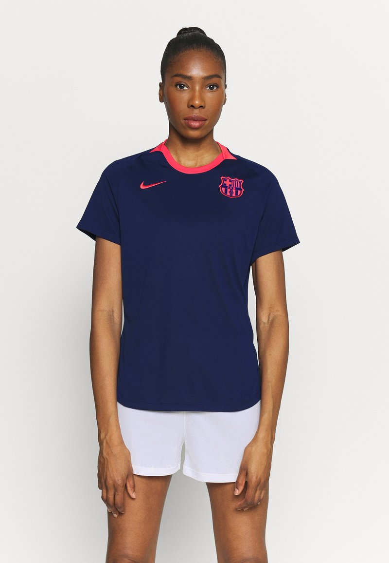 Nike Performance - FC BARCELONA DRY LIFESTYLE  - Equipación de clubes - blue void/lfusion red