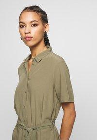 Pieces - PCCECILIE  - Shirt dress - deep lichen green - 3