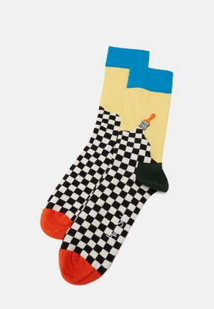 PAINT SOCK - Socks - medium blue