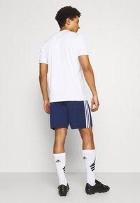 adidas Performance - SQUADRA 21 - Korte sportsbukser - navy blue/white - 2