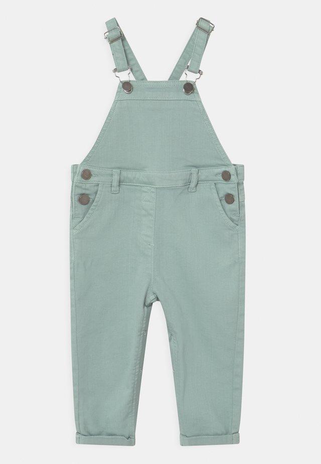 UNISEX - Tuinbroek - jeans green