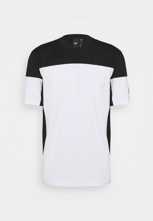 ZNE TEE - Print T-shirt - white/black