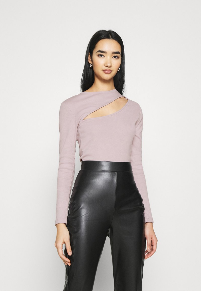 Nly by Nelly - CUT OUT - Long sleeved top - mauve