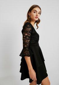 Sista Glam - NOVA - Vestido de cóctel - black - 4