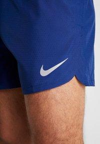 Nike Performance - DRY SHORT FAST - Träningsshorts - blue void/silver - 6