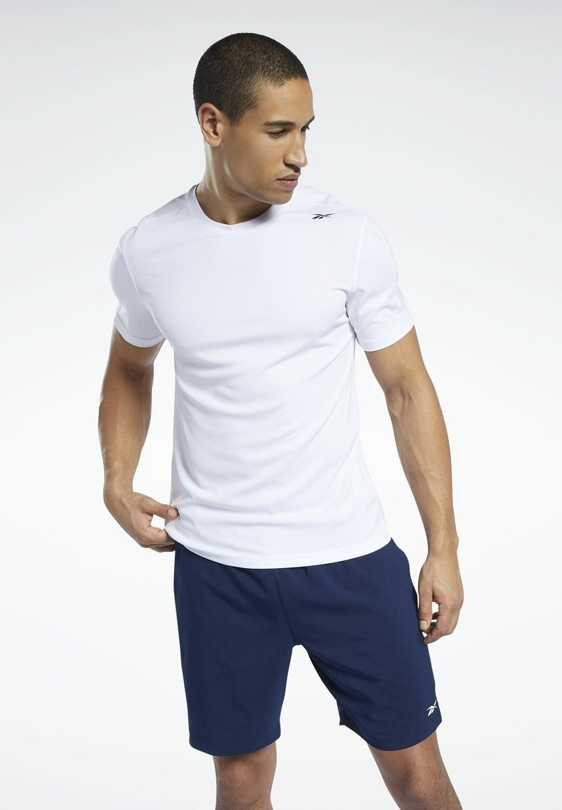 Reebok - WORKOUT READY SPEEDWICK TRAINING 1/2 - Pantaloncini sportivi - blue