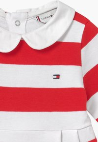 Tommy Hilfiger - BABY RUGBY STRIPE - Day dress - red - 4