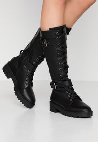 Refresh - Platform boots - black - 0