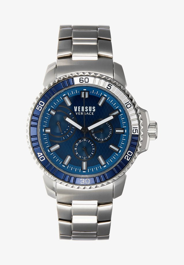 ABERDEEN EXTENSION - Montre - silver-coloured/blue