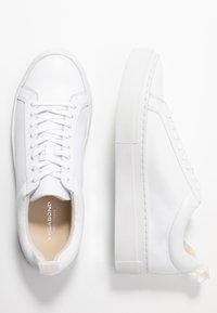 Vagabond - ZOE PLATFORM - Sneakers laag - white - 3
