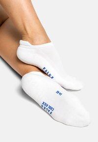 FALKE - Trainer socks - white - 2