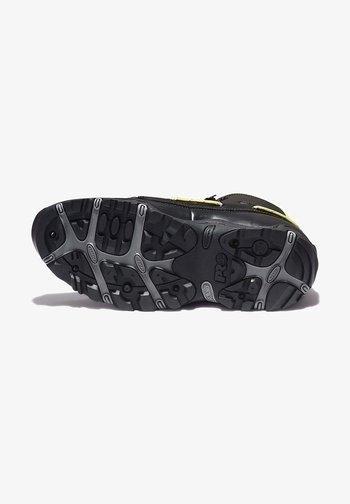 Lace-up ankle boots - jet black